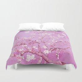 Vincent Van Gogh Almond BlossomS. Pink Lavender Duvet Cover