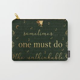 Stolen Songbird Quote Carry-All Pouch