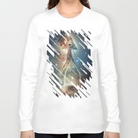 boats Long Sleeve T-shirts featuring War Of The Worlds II. by Dr. Lukas Brezak