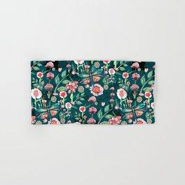 Botanical Dragonfly Garden Hand & Bath Towel
