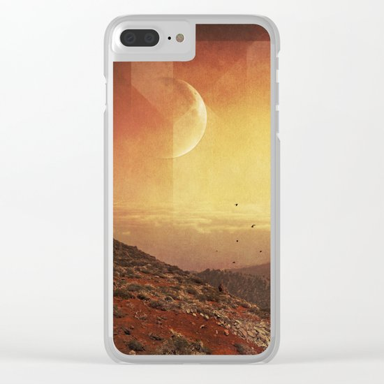 Strange Land Clear iPhone Case