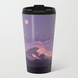 Mt Rainier Metal Travel Mug