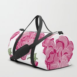Heart of flowers Duffle Bag