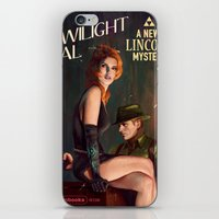 political iPhone & iPod Skins featuring Twilight Gal by Astor Alexander