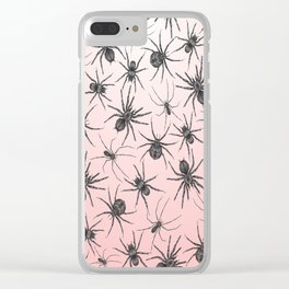 Spiders Clear iPhone Case