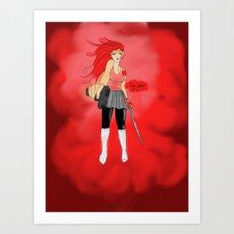 Girls for Guns..n Swords n Stuff Art Print