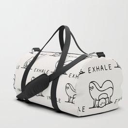 Inhale Exhale Avocado Duffle Bag