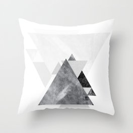 GEOMETRIC SERIES II Throw Pillow