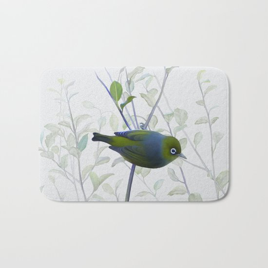 Little Silvereye Bath Mat