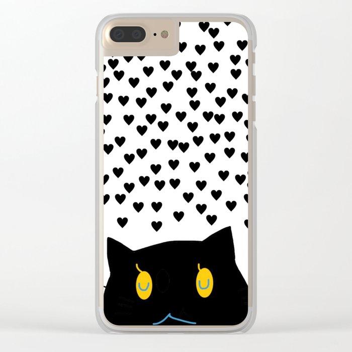 cat-354 Clear iPhone Case