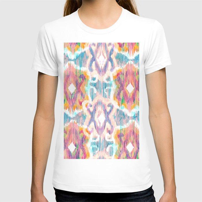 lollipop balinese ikat T-shirt