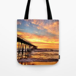 """Hermosa Beach """"A Parade of Colors"""" Tote Bag"""