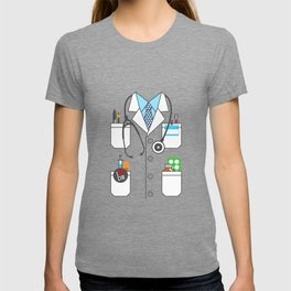 Doctor Costume Lab Coat Cosplay T-shirt