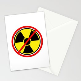 Against Atom Stationery Cards