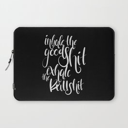 Inhale & Exhale Laptop Sleeve