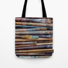 Artistic brush Tote Bag