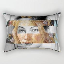 Sandro Botticelli's Flora & Ava Gardner Rectangular Pillow