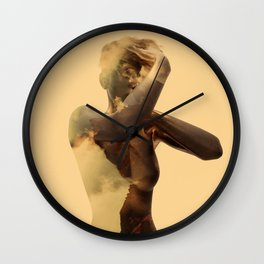 Goldie Wall Clock