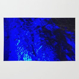 Blue Moon. Fashion Textures Rug