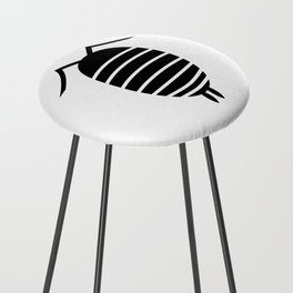 Bugs: abstract Isopod Counter Stool