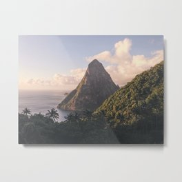 Along the Edge of the Equator Metal Print