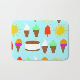 Summer pattern Bath Mat