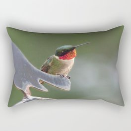 Frisky Hummer Rectangular Pillow