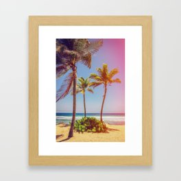 Tropical Breezes Framed Art Print