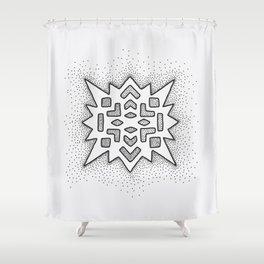 Little Christmas Shower Curtain