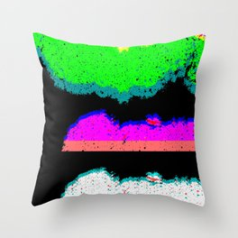 Undetermined Throw Pillow