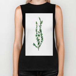 A Sprig of Thyme Biker Tank