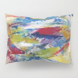 Abstract Oils Pillow Sham