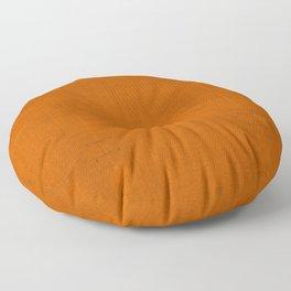 """Orange Burlap Texture (Pattern)"" Floor Pillow"