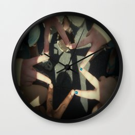 Finger Star Wall Clock