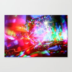 Lights Show Canvas Print
