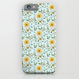 Floral Rose 0024  iPhone Case