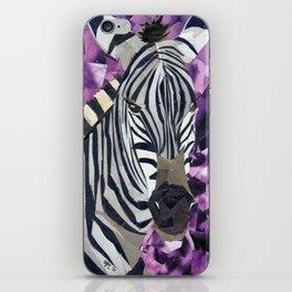 Zebra! iPhone Skin