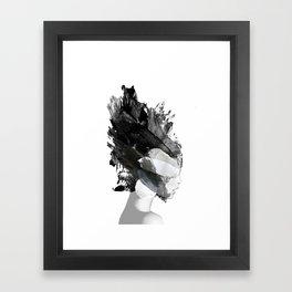 FREYA The Lady ABSTRACT ART Framed Art Print