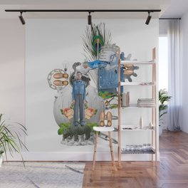 Jeans by Lenka Laskoradova Wall Mural