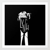 david lynch Art Prints featuring Lynch by Kevin Manley Graphics
