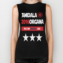 Amidala Organa Campaign Poster  Biker Tank