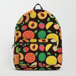Cute healthy vegan Fruit Pattern Gift Backpack