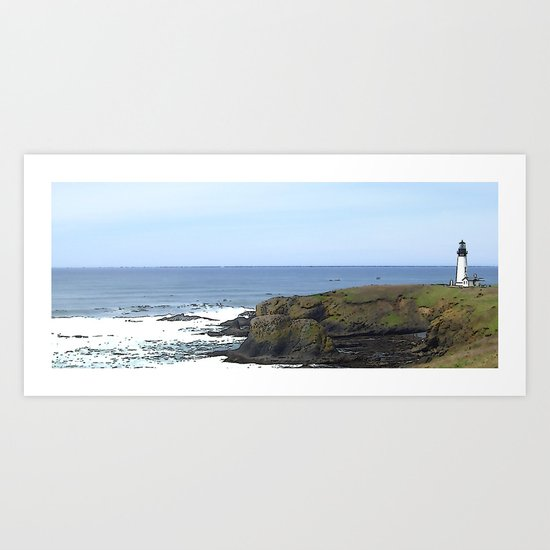 Remnants of a Simpler Time - The Lighthouse Art Print