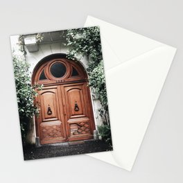 Pretty door in Buenos Aires Stationery Cards