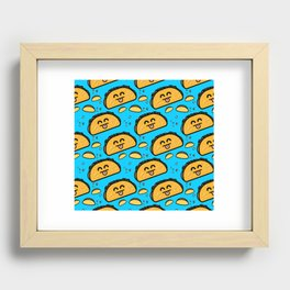 Taco Tuesday Recessed Framed Print