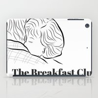 the breakfast club iPad Cases featuring The Breakfast Club  by Luster