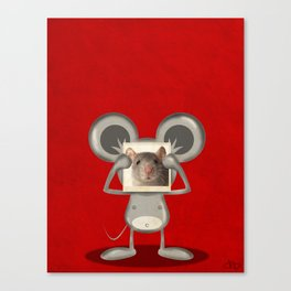 Real Mouse Canvas Print