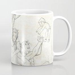 Dungeons and Dragons Group Coffee Mug