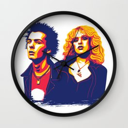 Sid & Nancy Wall Clock