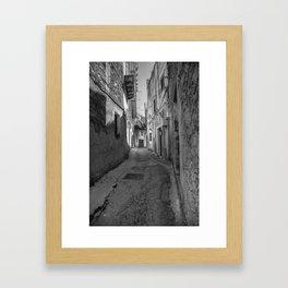 Caltabellotta Sicily Framed Art Print